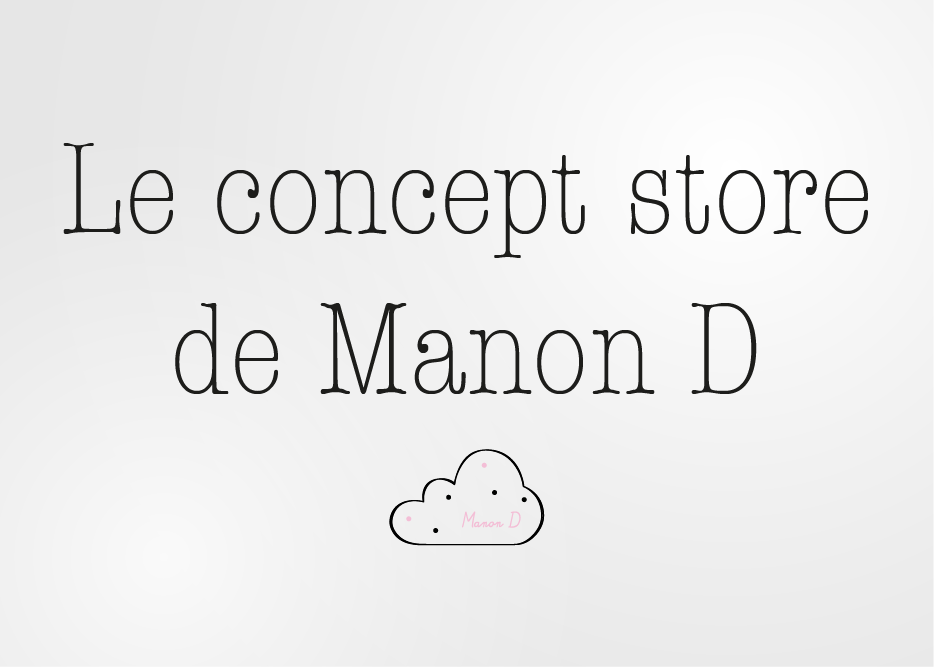 LE CONCEPT STORE DE MANON D